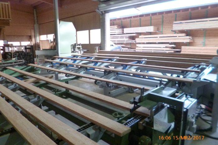 Schnittholzförderanlagen