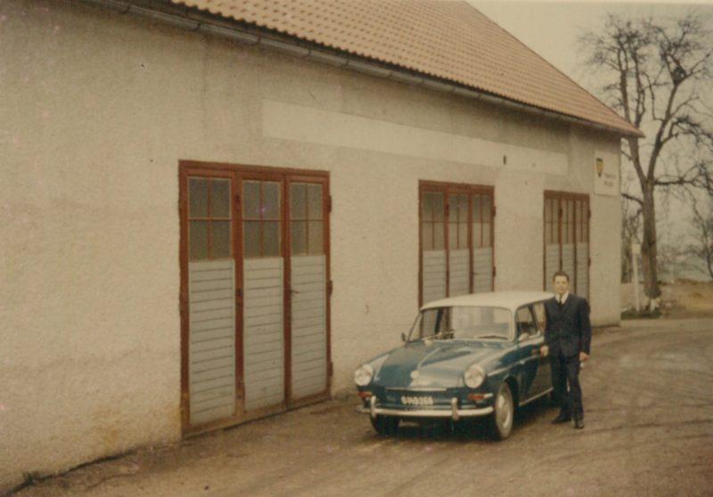 1970 Adolf Vor Werkstatt